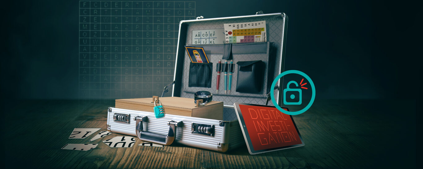 Digital Investigation – the escape game company event for everywhere
