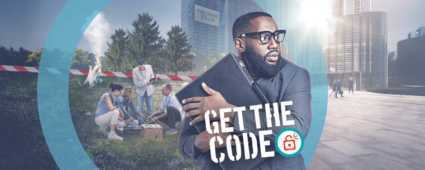 Get the CODE – the team escape game in motion