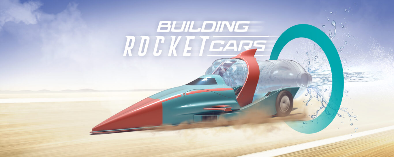 Building rocket cars – the technical team experience