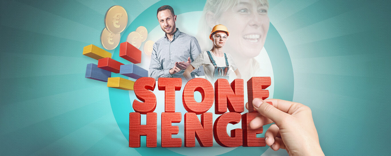 Stonehenge – team work built on a rock