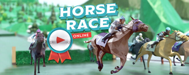 Online horse race - rush ahead together and win the horse race