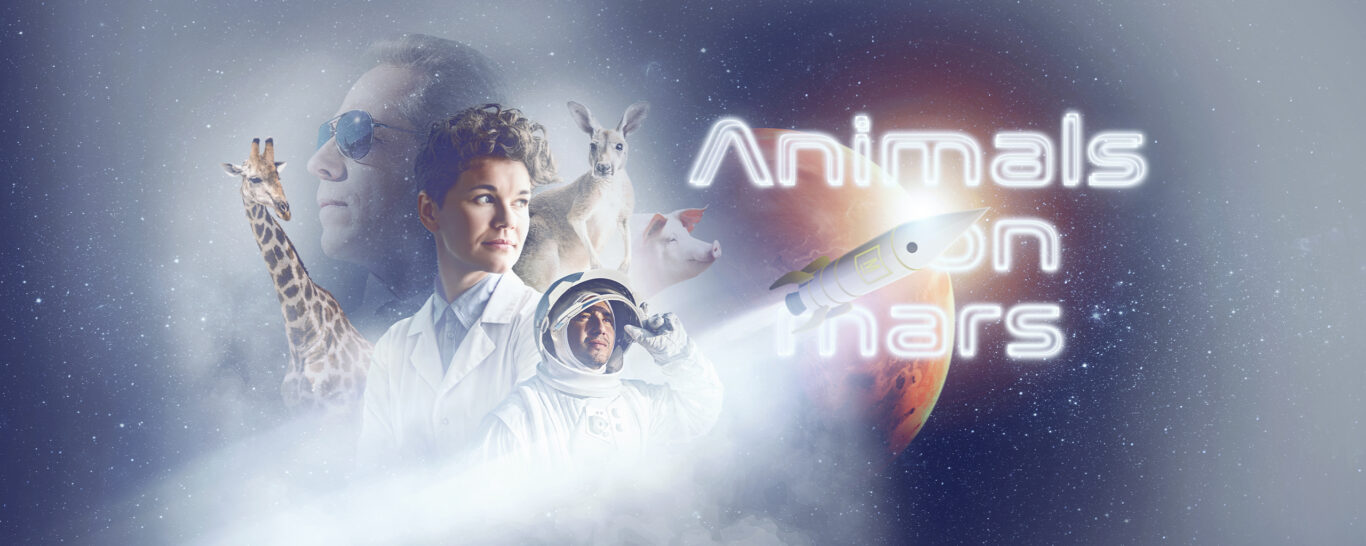 Animals on Mars – A team event that brings life to space.