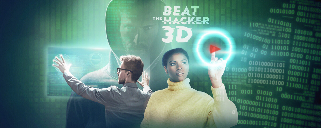 Beat the Hacker is back– the 3D escape game