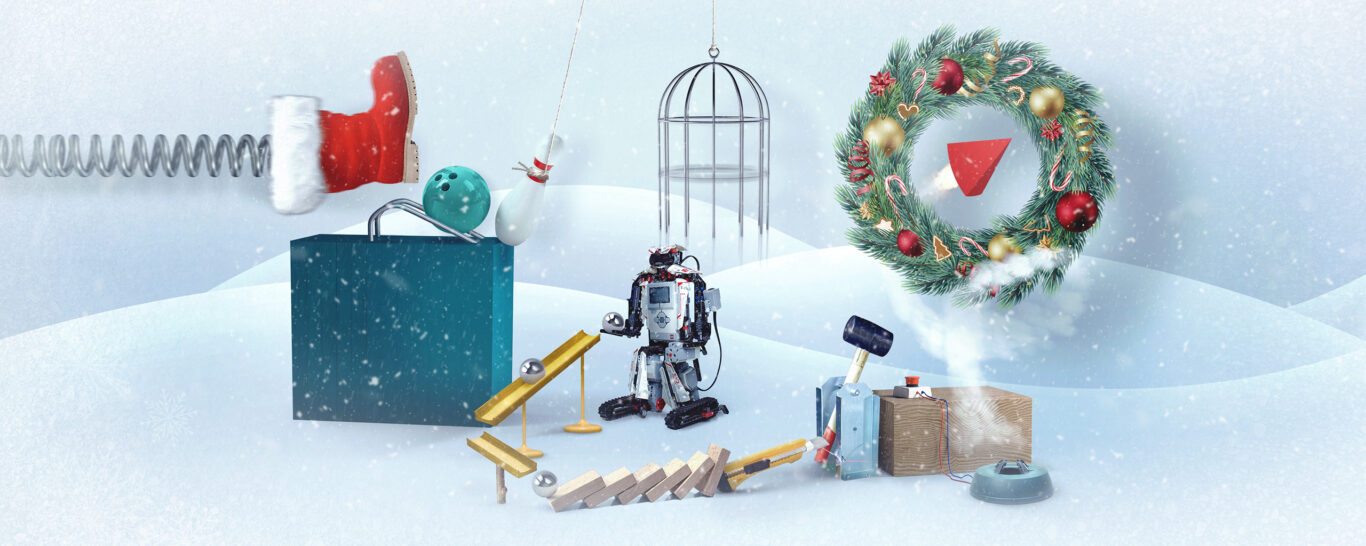 Christmassy Chain Reaction – we will light up the Christmas tree bright