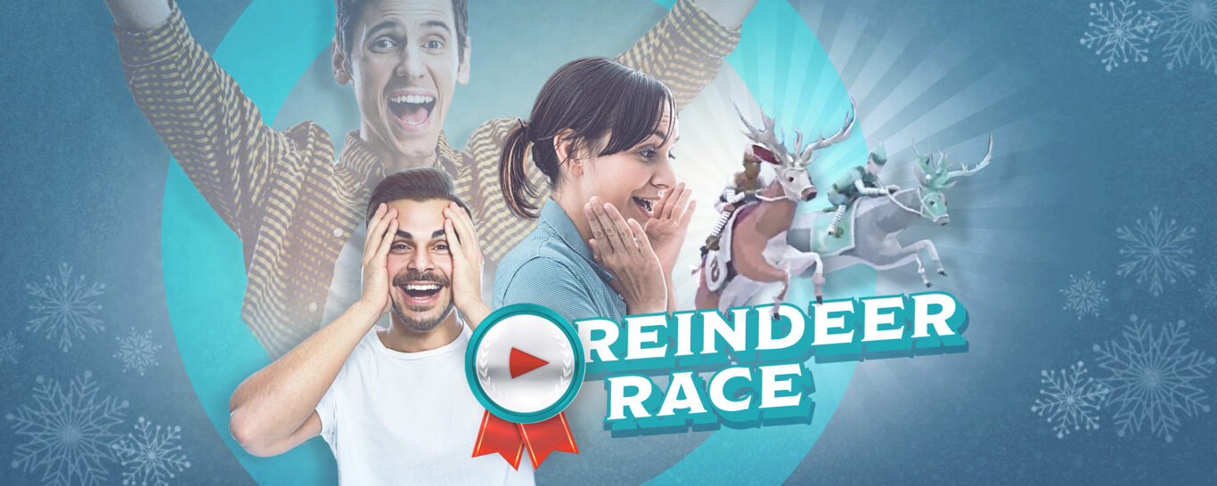 Reindeer Race – the wintery team competition