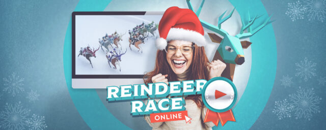 Online Reindeer Race - the wintery game event